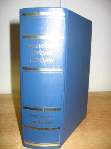 9780340427040: Langenscheidt's Standard French-English, English-French Dictionary (Langenscheidt Standard Dictionaries)