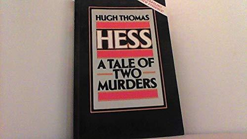 9780340488690: Hess: A Tale of Two Murders