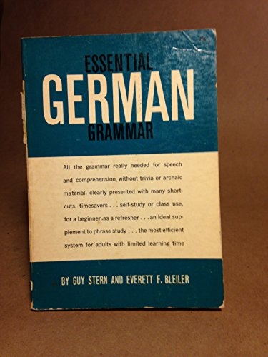 9780340493588: Essential German Grammar (Teach Yourself)