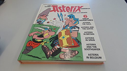 9780340494950: Giant Asterix Omnibus:Asterix the Gaul,Asterix and the Goths,Asterix in Britain,Asterix in Spain,Asterix and the Soothsayer and Asterix in Belgium