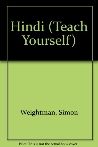 9780340496527: Hindi (Teach Yourself)