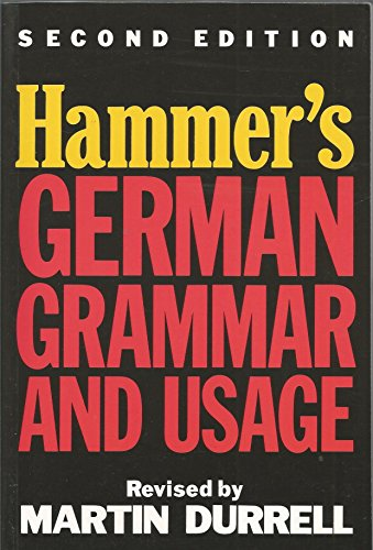 9780340501290: German Grammar and Usage