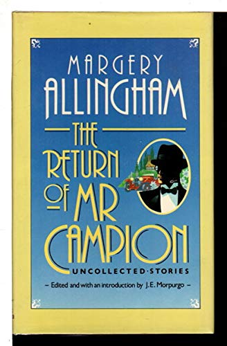 9780340502846: The return of Mr. Campion