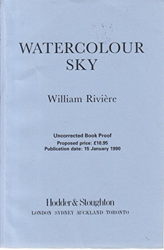 9780340506967: Watercolour Sky