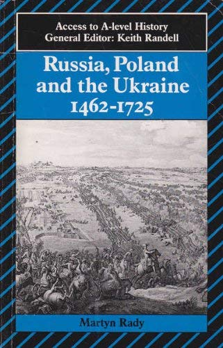 9780340507841: Czars, Russia, Poland and the Ukraine, 1462-1725 (Access to A-Level History)
