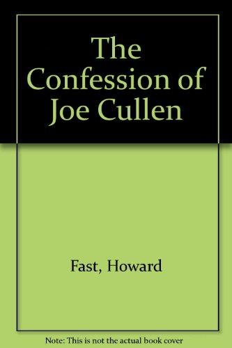 9780340510766: Confession of Joe Cullen