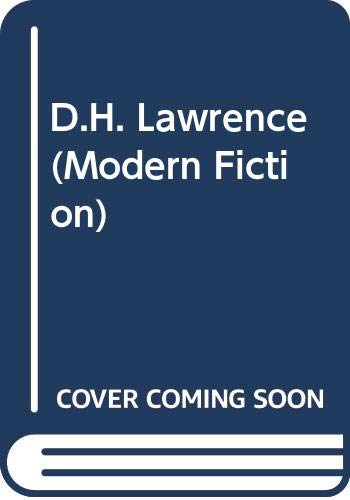 9780340513729: D.H. Lawrence (Modern Fiction)