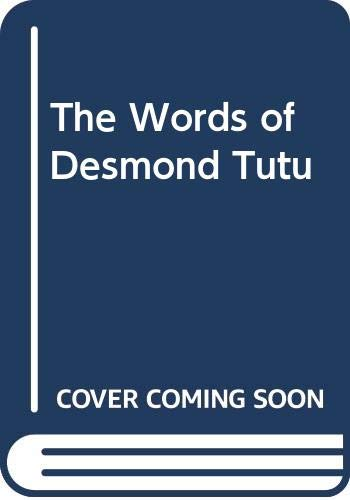 9780340513859: The Words of Desmond Tutu