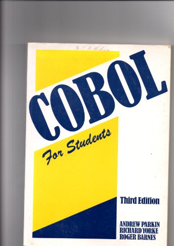 9780340517987: Cobol for Students