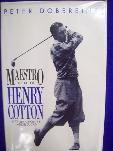 9780340518168: Maestro: Life of Sir Henry Cotton