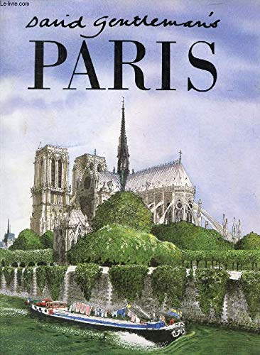 9780340518694: David Gentleman's Paris