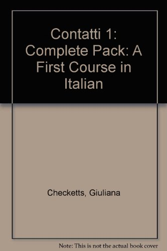 9780340529904: Contatti 1: Complete Pack: A First Course in Italian