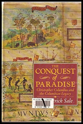 9780340533833: The Conquest of Paradise: Christopher Columbus and the Columbian Legacy