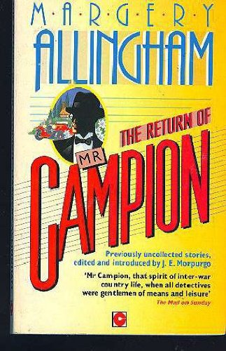 9780340535400: The Return of Mr. Campion : Uncollected Stories