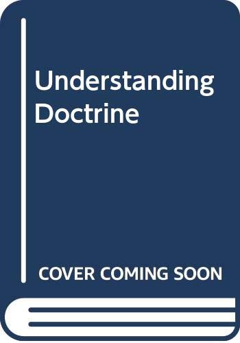 9780340538227: Understanding Doctrine