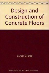 9780340539187: Design and Construction of Concrete Floors