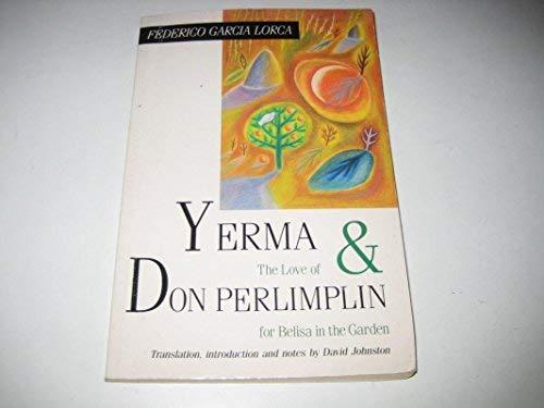 9780340540190: Yerma & The Love of Don Perlimplin for Belisa in the Garden