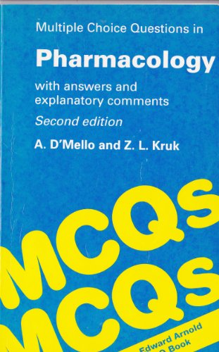 9780340543214: MULTIPLE CHOICE QUESTIONS IN PHARMACOLOGY 2ND EDITION MCQ's PHARAMCOLOGY (Multiple Choice Questions Series)