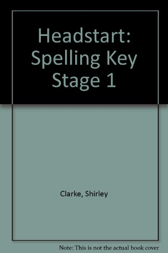 9780340544587: Headstart: Spelling Key Stage 1