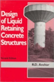 9780340545270: Design of Liquid Retaining Concrete Structures, Second Edition