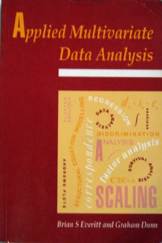 9780340545294: Applied Multivariate Data Analysis