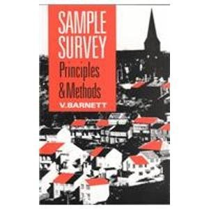 9780340545539: Sample Survey Principles and Methods