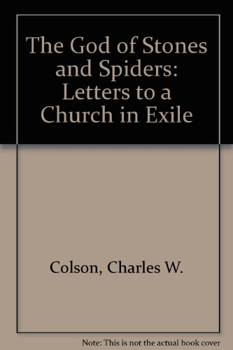 9780340546208: The God of Stones and Spiders: Letters to a Church in Exile