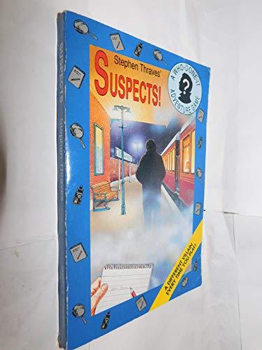 9780340548714: Suspects!: Adventure Gamebook (Whodunnit adventure game book)