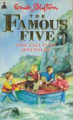 9780340548837: Five Fall into Adventure (Knight Books)