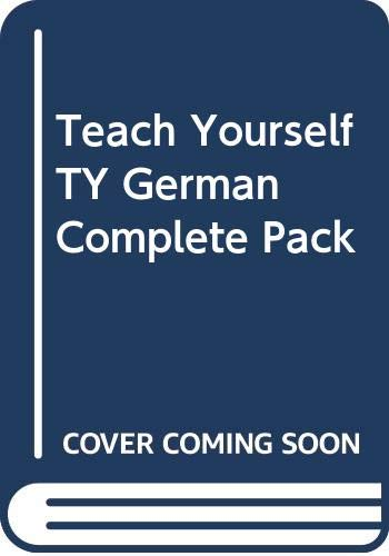 9780340553329: Teach Yourself German: A Complete Course For Beginners