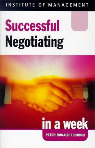 9780340555385: Successful Negotiating In A Week