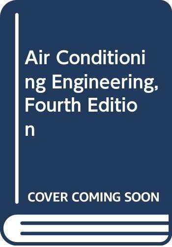 9780340556375: Air Conditioning Engineering