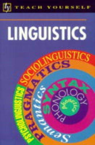 9780340559383: Linguistics