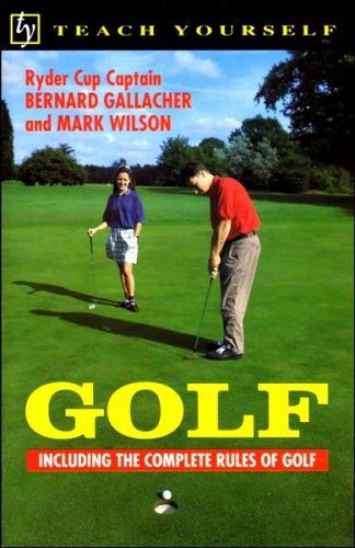 9780340561485: Teach Yourself Golf