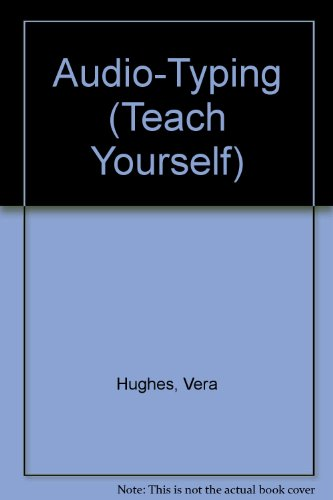9780340563847: Teach Yourself Audio-typing (Teach Yourself)