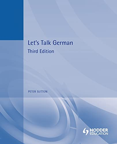 9780340566275: Let's Talk German: Pupil's Book 3rd Edition (German Edition)