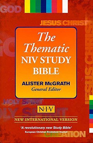 9780340567081: Bible: New International Version Thematic Study Bible