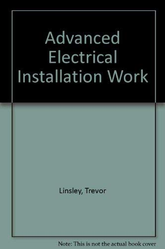9780340568330: Advanced Electrical Installation Work