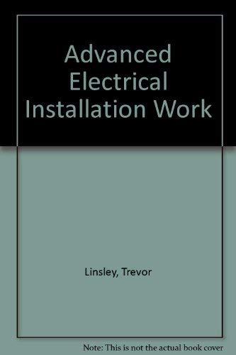 9780340568330: Advanced Electrical Installation Work