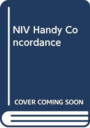 9780340569078: NIV Handy Concordance