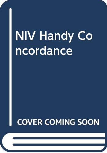 9780340569078: The New International Version Handy Concordance