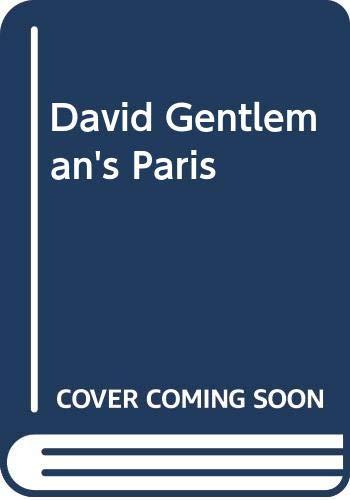 9780340572443: David Gentleman's Paris
