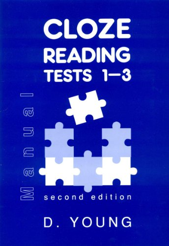 9780340573570: Cloze Reading Tests: Test 1