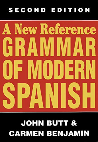 9780340583906: A New Reference Grammar of Modern Spanish