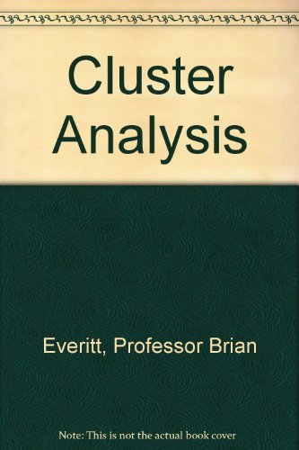 9780340584798: Cluster Analysis