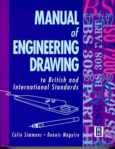 9780340584842: Manual of Engineering Drawing to British and International Standards