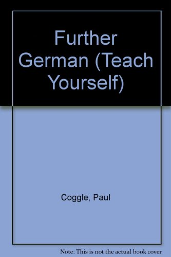 9780340585436: Further German (Teach Yourself)