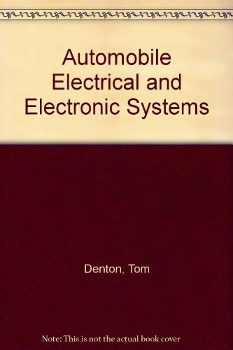 9780340586044: Automobile Electrical and Electronic Systems