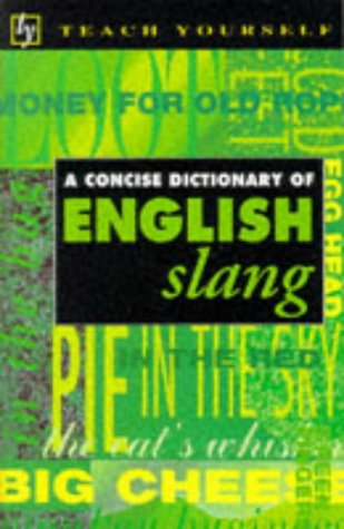 9780340587430: Concise Dictionary of English Slang (Teach Yourself)