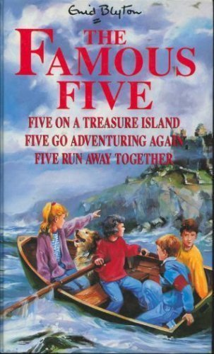 9780340587522: Famous Five Library: Five on a Treasure Island, Five Go Adventuring Again, Five Run Away Together v. 1